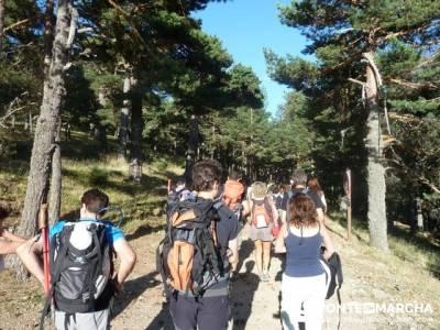 Senderismo a la luz de la luna - Cascada de San Mamés; libros senderismo